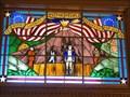 Image for KS Bicentennial Windows -- N entrance KS State Capitol, Topeka KS