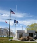 Image for Nautical Flag Poles at Great Salt Lake State Marina - Magna, Utah USA