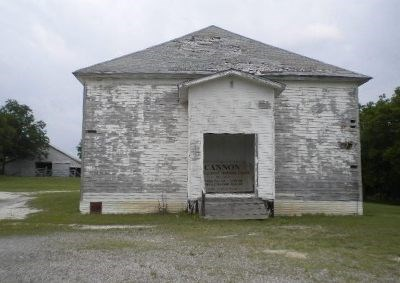 Front of the church.