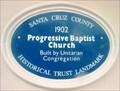 Image for Blue Plaque: Progressive Baptist Church