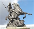 Image for The Dragon Being Slain by Saint George – Newcastle Upon Tyne, UK