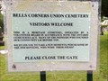 Image for Bells Corners Union Cemetery, Nepean Township, Carleton County, Ontario