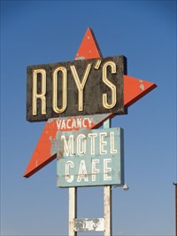 veritas vita visited Roy's Cafe
