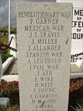 Image for First German Reformed Church Cemetery War Memorial  (Revolutionary) - Ragersville, OH