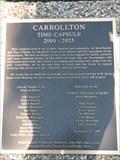 Image for Carrollton Time Capsule - Carrollton, TX