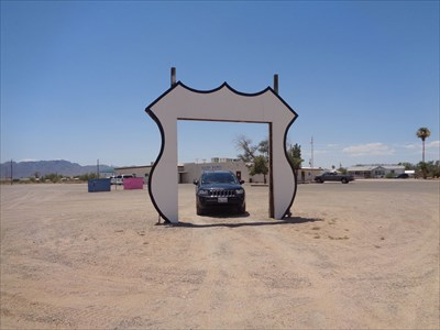 Vehicle Photo Frame ~ Topock, Arizona
