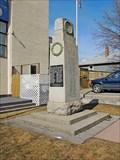 Image for Legion Branch 029 Cenotaph - Creston, BC