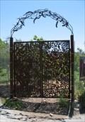 Image for U.C. Student Garden Gate - Berkeley, California