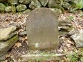 Image for Franklin Mile Marker - 64 Miles From Boston - 1767 Milestones - Brookfield, MA