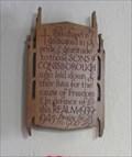 Image for Plaque, Chapel St. Peters Church, Conisbrough, Doncaster.