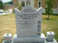 Image for Caldwell County Peace Officer Memorial - Lenior, NC