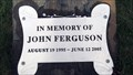 Image for John Ferguson - Noxon, Montana