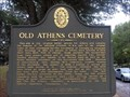 Image for Old Athens Cemetery (Clarke County)