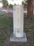 Image for Fred Spilman Headstone Sundial - Greenwood Cemetery - Greenwood, TX