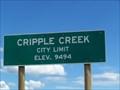Image for Cripple Creek, CO  (9,494 ft.) - Westside of town