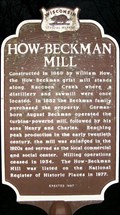 Image for How-Beckham Mill Historical Marker