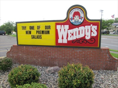 Wendy's Sign, Hopkins, MN