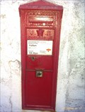 Image for Victorian Post Box Boscastle Cornwall