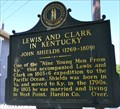 Image for Lewis and Clark in Kentucky - John Shields (1769-1809)