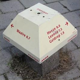 "This Paddo is placed at the corner of ""Pastoor van der Heijdenstraat"" and ""Karel de vijfde Laan"" and ""Ekenrooisestraat"" in Waalre."