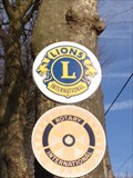 Image for Plaque Lions Clubs à Amboise (Centre, France)