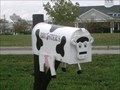 Image for Bruester's Ice Cream Cow Mailbox - Georgetown, KY