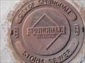 Image for Springdale Arkansas Manhole Cover