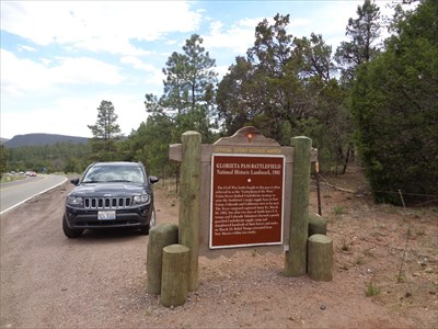 Glorieta Pass Battlefield - Santa Fe, New Mexico, USA