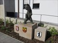 Image for Little bear in front of town hall - Strullendorf, BY, Germany