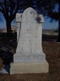Image for Edward E. Hamilton - Boyd Cemetery - Boyd, TX
