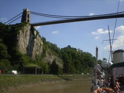 veritas vita visited Clifton Suspension Bridge
