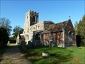 Image for All Saints Church, Offord Cluny, Cambs, UK