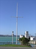Image for Boat Harbour Flag Pole. Oamaru. New Zealand.
