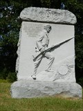Image for Soldier on the 68th Ohio Regiment Memorial - Vicksburg National Military Park