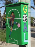 Image for Soccer Theme Utility Box on Pole - San Jose, CA