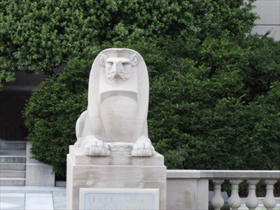 Right Sphinx from the Front, Washington, DC