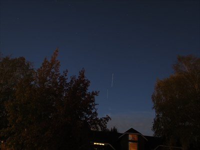 ISS Above Neighbor House, Almaden Valley, San Jose, California