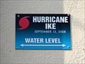 Image for Hurricane Ike High Water Mark - Schlitterbahn - Galveston, TX