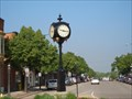 Image for Street Clock (A Main Street Beautification Project) De Pere, WI