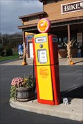 Image for Island Bikes gas pumps - South Bass Island, Ohio