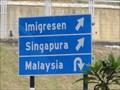 Image for Singapore/Malaysia along Malaysia - Singapura Highway.