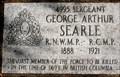 Image for Sergeant George Arthur Searle - Creston, BC