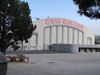Cow Palace, West Side, Daly City, California