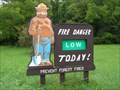 Image for Smokey Bear on South 209 - Delaware Water Gap NRA