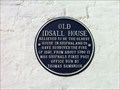 Image for Blue Plaque - Old Idsall House, Shifnal, Shropshire