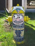 Image for Painted Hydrant in Crystal Beach