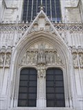 Image for Door - St. Michael and St. Gudula Cathedral, Brussel, BE, EU