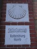 Image for Marker 'Jakobsweg Rottenburg - Horb' - Rottenburg, BW, Germany