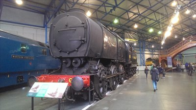 National Railway Museum - York, Great Britain.