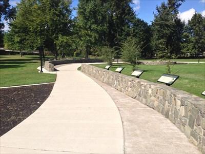 Nobel Prize Walkway, Eugene, Oregon